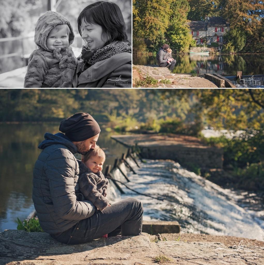 portrait séance photo bébé rennes extérieur photographe famille enfants