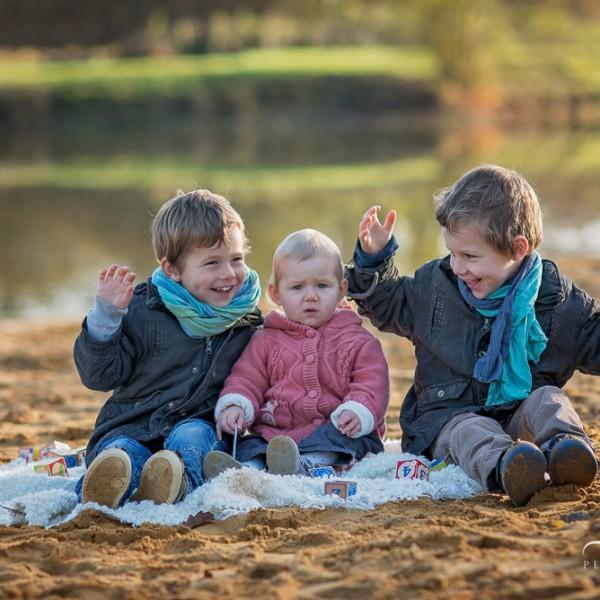 5 raisons pour réserver votre séance photo famille en hiver à Rennes