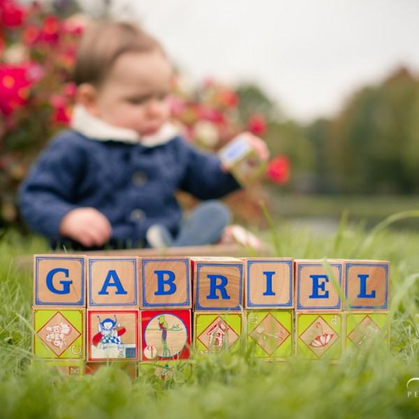 Gabriel fête son premier anniversaire