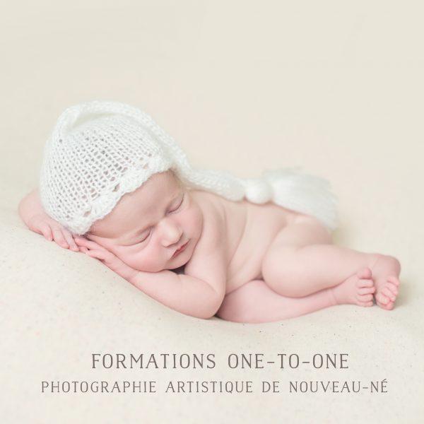 Formation à la photographie de nouveau-né en Bretagne